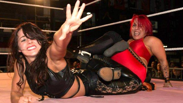LuFisto Vs Nikki Storm (Nikki Cross)
