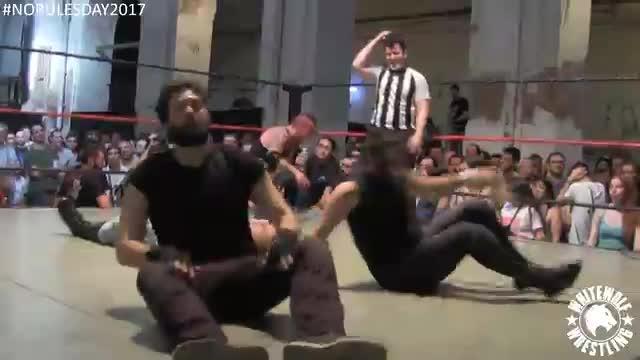Astiles vs Ruky vs Thrash-Man vs Francesco Palazzo vs Dorian vs Daniel Drake - No-DQ #1 Contender - No Rules Day '17