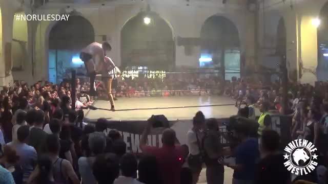 Zayas vs Álex - Level One Championship - No Rules Day '17