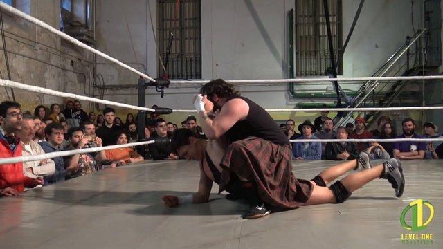 Noah Striker vs Zozaya: Level One - Superheroes