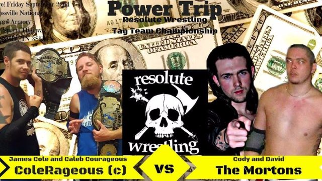 *RESOLUTE WRESTLING* Presents: Power Trip 2017