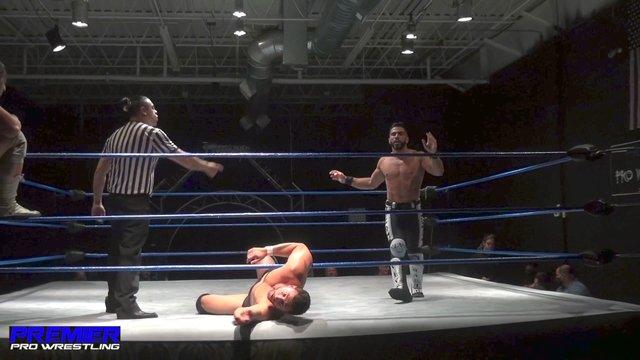 Chase Gosling & Sem Sei (c) vs Matt Vine & Iniestra - Premier Pro Wrestling  PPW #315