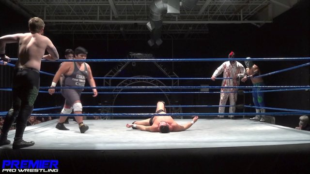 Matt Vine, Psycho Spawn & Ultimo vs. Not Bad Chad, American Beard & Eddie Cruz - Premier Pro Wrestling PPW #336
