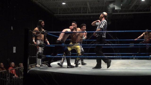 Iniestra, Semsei & Pancho vs. Jose Acosta, Ventura & Charlie Hustle - Premier Pro Wrestling PPW #339