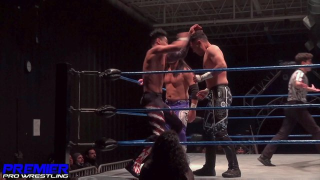 Ventura & Charlie Hustle (c) vs. Iniestra & Pancho - Premier Pro Wrestling PPW Reckoning