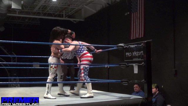Iniestra vs. The American Beard - Premier Pro Wrestling PPW #342