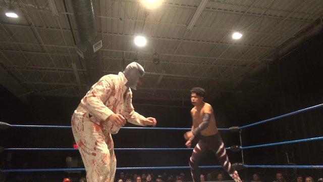 Ventura vs. Psycho Spawn - Premier Pro Wrestling PPW Resilience