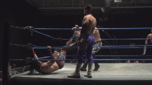 Pancho and Iniestra (c) vs. Jose Acosta and Semsei - Premier Pro Wrestling PPW #350