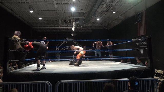 Not Bad Chad, Eddie Cruz & Moondog Murray vs. Zero-Gold, Russian Assassin & Scuba Sam - Premier Pro Wrestling PPW #352