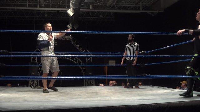 Chase Gosling confronts Charlie Hustle - Premier Pro Wrestling PPW #355