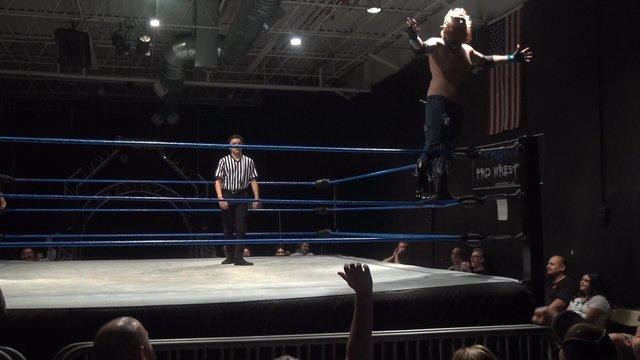 Eye Ortiz vs. Moondog Murray - Premier Pro Wrestling  PPW Intemperance