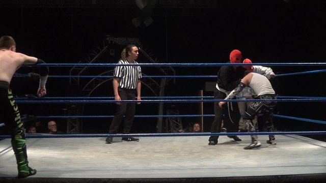 Dangerous Hustle vs. Zero-1 & Zero-2 - Premier Pro Wrestling PPW Do or Die