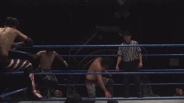 Jose Acosta & Ventura vs. Iniestra & Pancho - Premier Pro Wrestling PPW #365