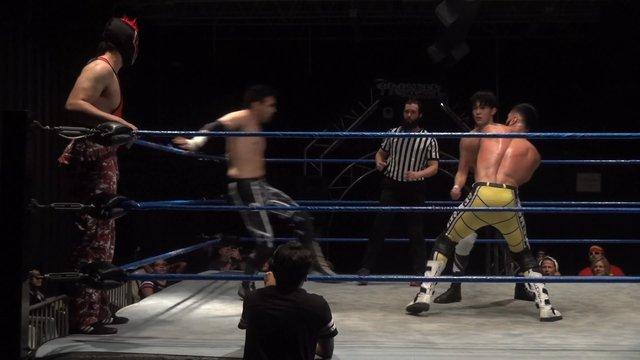 Sem Sei & Alejandro Murrufo  vs. Pancho & Psycho Spawn - Premier Pro Wrestling PPW #370