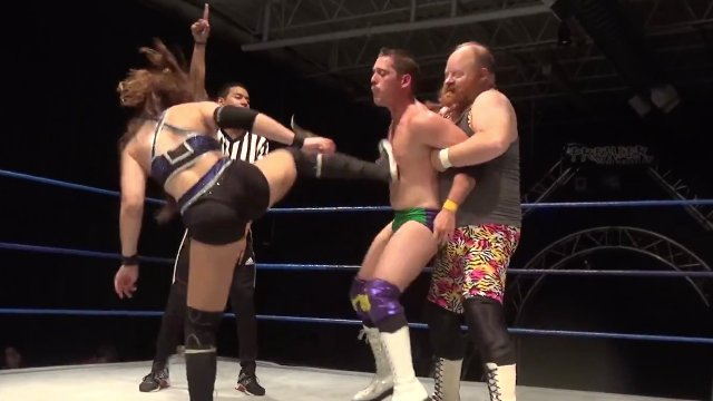 Wrestling Andy & Skye Blue vs. Marcus Smith & Connor Corr - Premier Pro Wrestling PPW #261