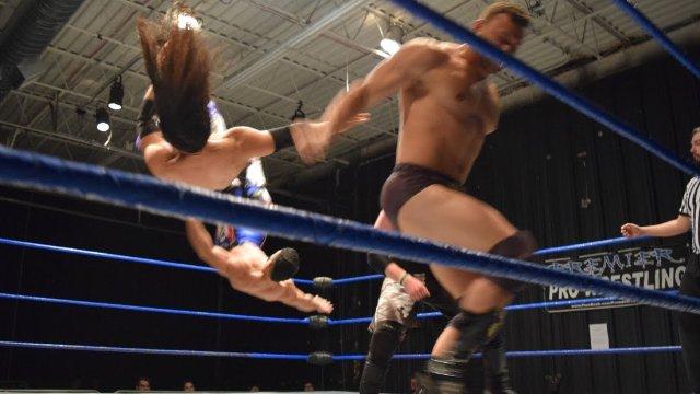 Matt Vine & NPK vs. Iniestra & Semsei - Premier Pro Wrestling PPW #283