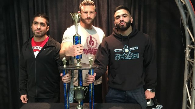 Iniestra vs. Matt Vine vs. Semsei - Premier Pro Wrestling PPW #286