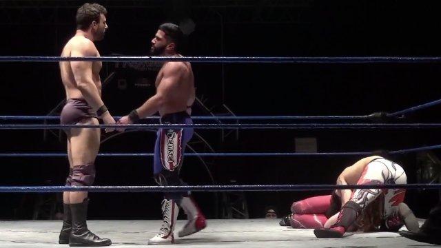 Anakin & José Acosta (c) vs. Matt Vine & Semsei - Premier Pro Wrestling PPW #290
