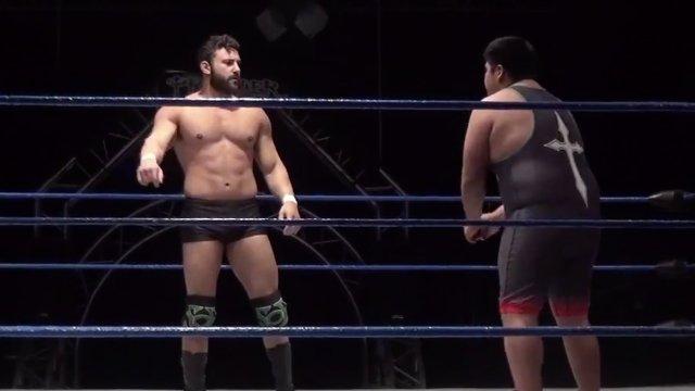Matt Vine vs. Eddie Cruz - Premier Pro Wrestling PPW