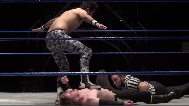 Pancho vs. Charlie Hustle - Premier Pro Wrestling PPW