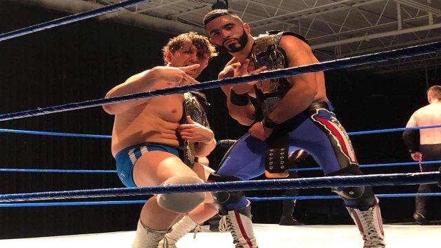 Ventura & Charlie Hustle (c) vs. Chase Gosling & Semsei - Premier Pro Wrestling PPW #321