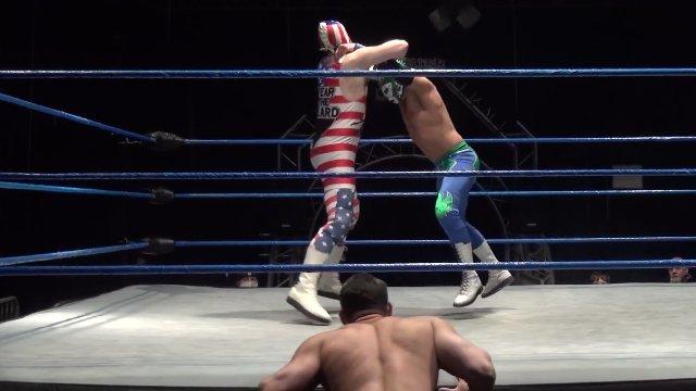 Matt Vine vs. Ultimo vs. American Beard - Premier Pro Wrestling PPW #343