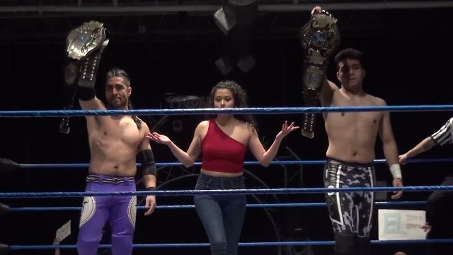 Iniestra & Pancho vs. Ventura & Charlie Hustle - Premier Pro Wresting PPW #346