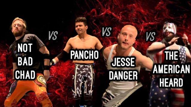 Not Bad Chad vs. Pancho vs. American Beard vs. Jesse Danger - Premier Pro Wrestling PPW #369