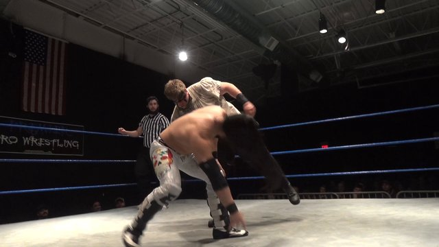 Iniestra vs. Wolfman Huck - Premier Pro Wrestling PPW #244