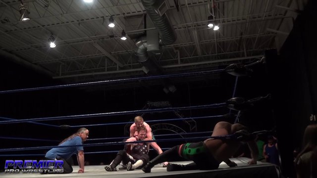Bryce Akers vs. Not Bad Chad vs. NPK - Premier Pro Wrestling PPW #254