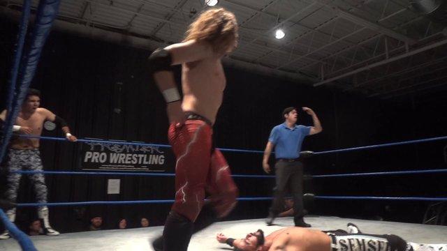 Anakin & Jose Acosta (c) vs. Semsei & Pancho - Premier Pro Wrestling PPW #273