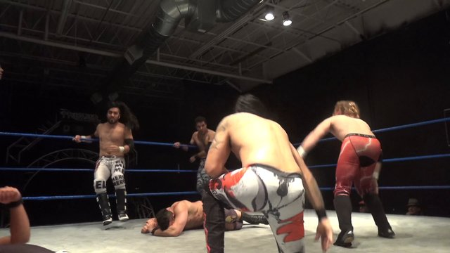 Matt Vine, Anakin & Jose Acosta vs. Iniestra, Semsei & Pancho - Premier Pro Wrestling PPW #279
