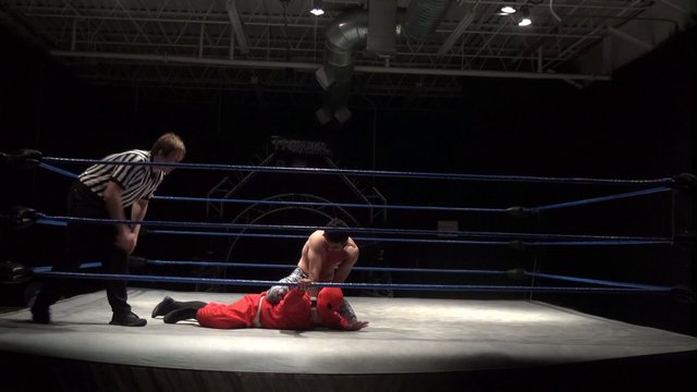 Pancho vs. Magnificent Red - Premier Pro Wrestling PPW