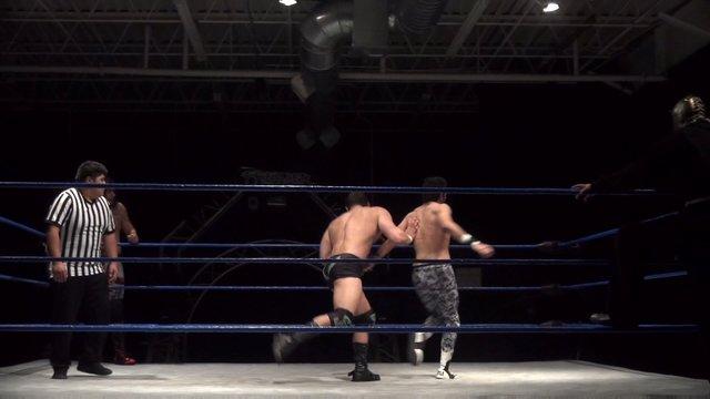 Matt Vine vs. Jose Acosta vs. Pancho vs. Zero-Gold - Premier Pro Wrestling PPW
