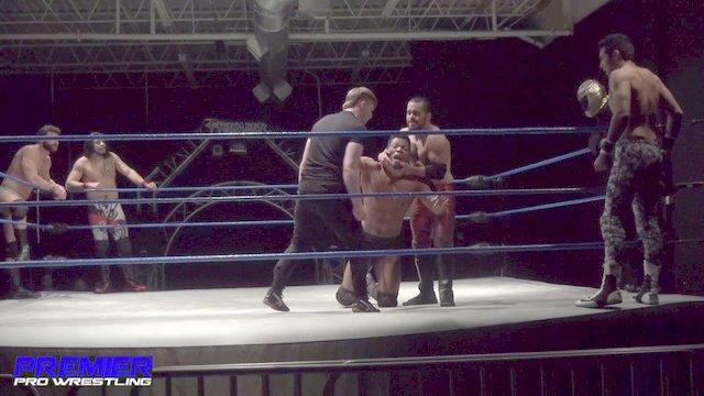 Matt Vine, Jose Acosta & Tim Castle vs. Pancho, Ultimo & Zero-Gold - Premier Pro Wrestling PPW