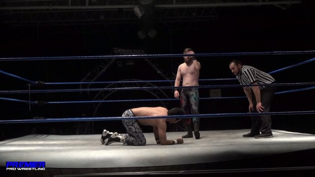 Not Bad Chad vs. Pancho - Premier Pro Wrestling PPW