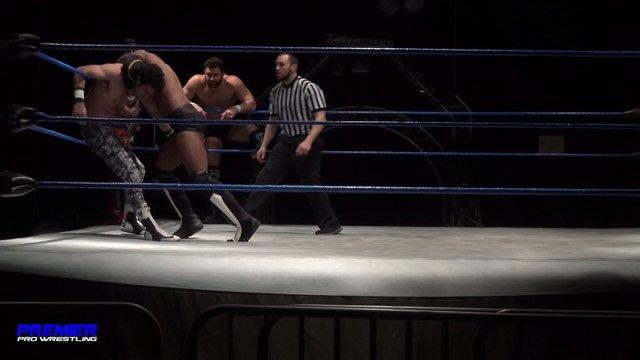 Matt Vine, Jose Acosta & Tim Castle vs. Pancho, Zero-1 & Zero-Gold  - Premier Pro Wrestling PPW