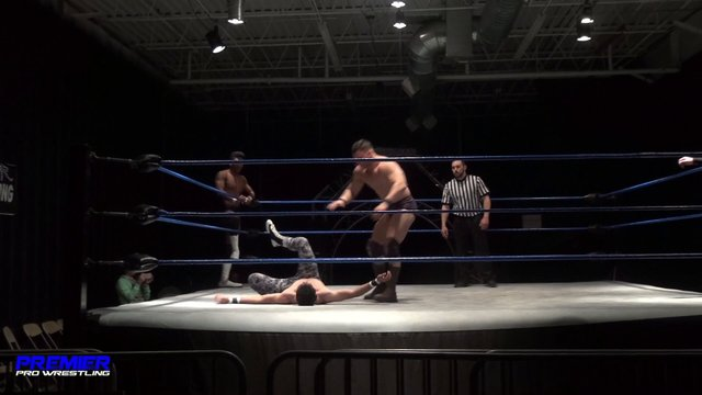 Matt Vine vs. Pancho vs. Tim Castle vs. Charlie Hustle - Premier Pro Wrestling PPW