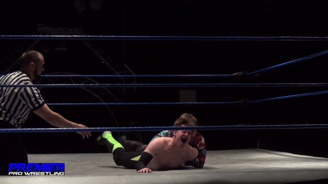 Not Bad Chad vs. Charlie Hustle - Premier Pro Wrestling PPW