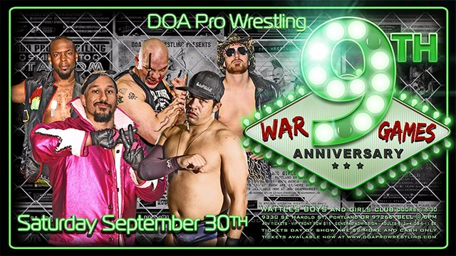 DOA Pro Wrestling 9th Anniversary