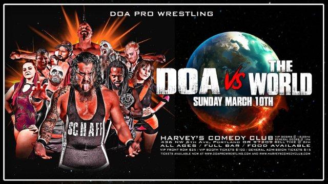 DOA vs the World (03/10/2019)