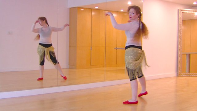 Orientation for Continuing Beginners 3: Footwork Practice Belly Dance Dancing Bellydance Bellydancing