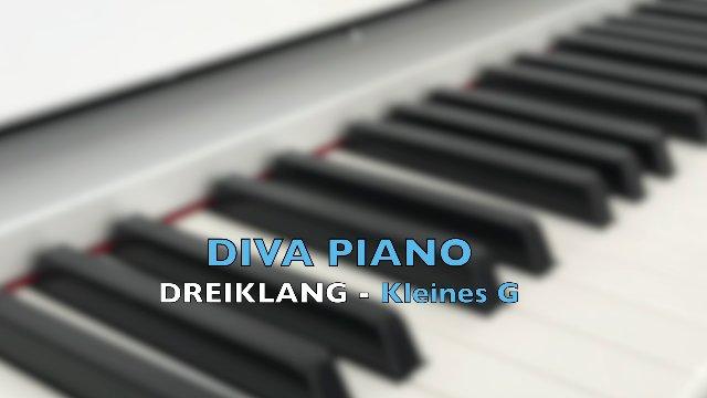 DIVA PIANO - DREIKLANG-Kleines G