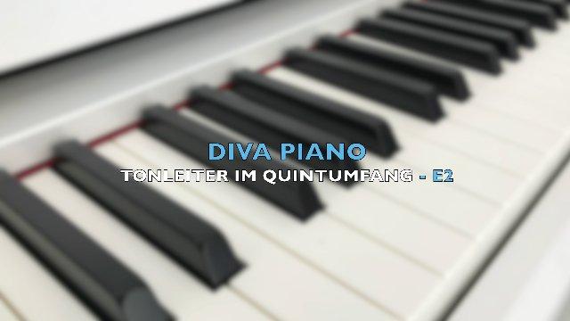 DIVA PIANO - TONLEITER IM QUINTUMFANG-E2