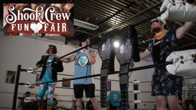 "Create A Pro Wrestling Presents ""The Shook Crew Fun Fair"""
