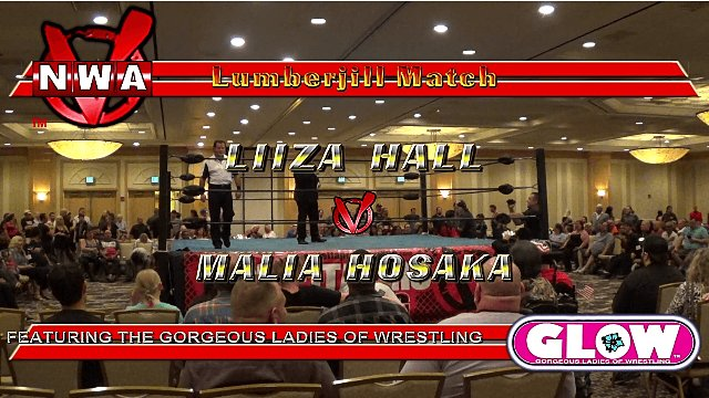Casino Royale 2017 at CAC: Liiza Hall vs. Malia Hosaka ft. GLOW