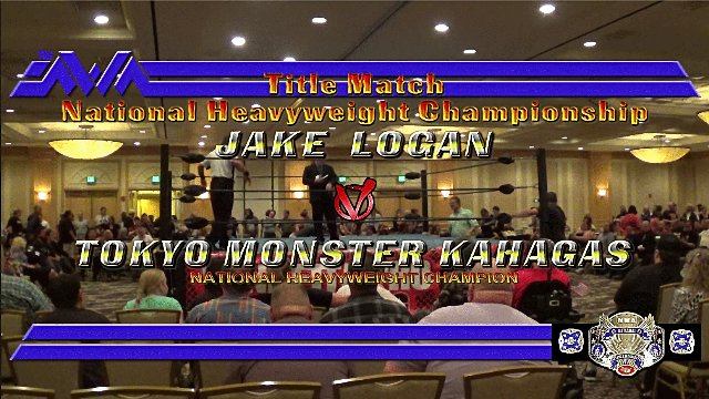 Casino Royale 2017 at CAC:  Jake Logan vs. Kahagas - NWA National Heavyweight Championship
