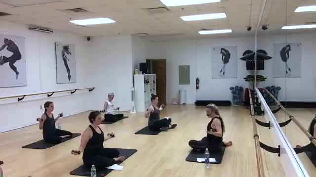 53 Minute In Studio Weights Only Barre Fusion Class