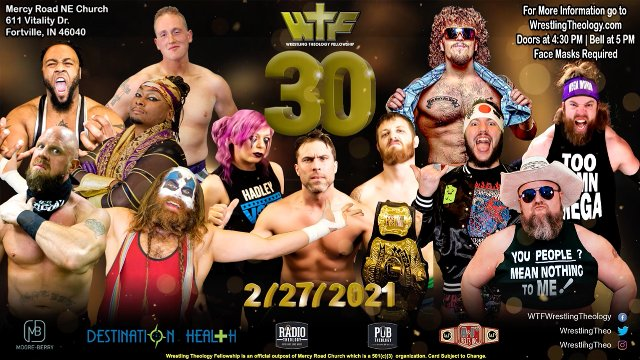 Wrestling Theology presents WTF 30