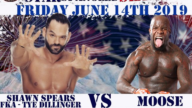 Shawn Spears vs. Moose - 6/14/2019 - Atomic Revolutionary Wrestling